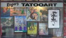 Tattoo store, New Zealand