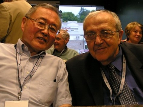 Taketo Murata and Tom Blass