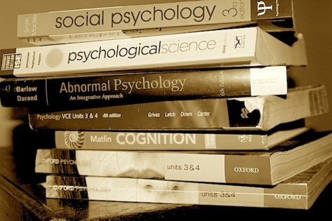 Psychology-book-stack